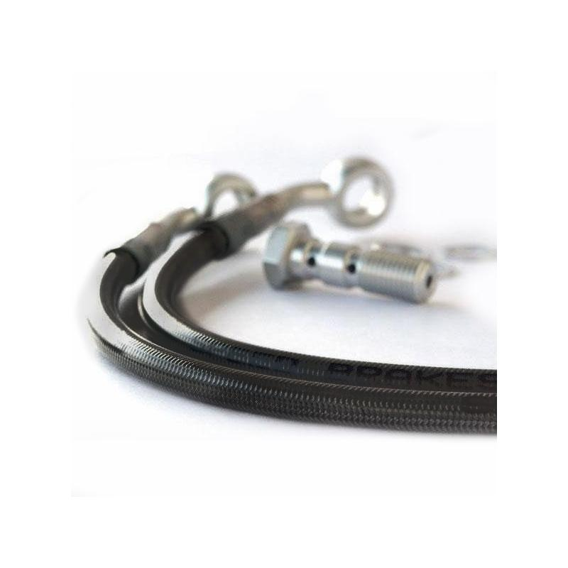 Durite d'embrayage aviation carbone raccords alu BMW K1300 S 09-14