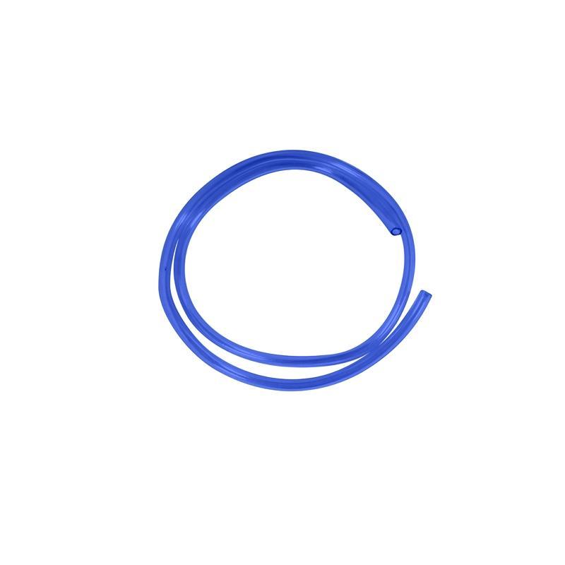 Durite d'essence Ø6 mm x 1 mètre bleue