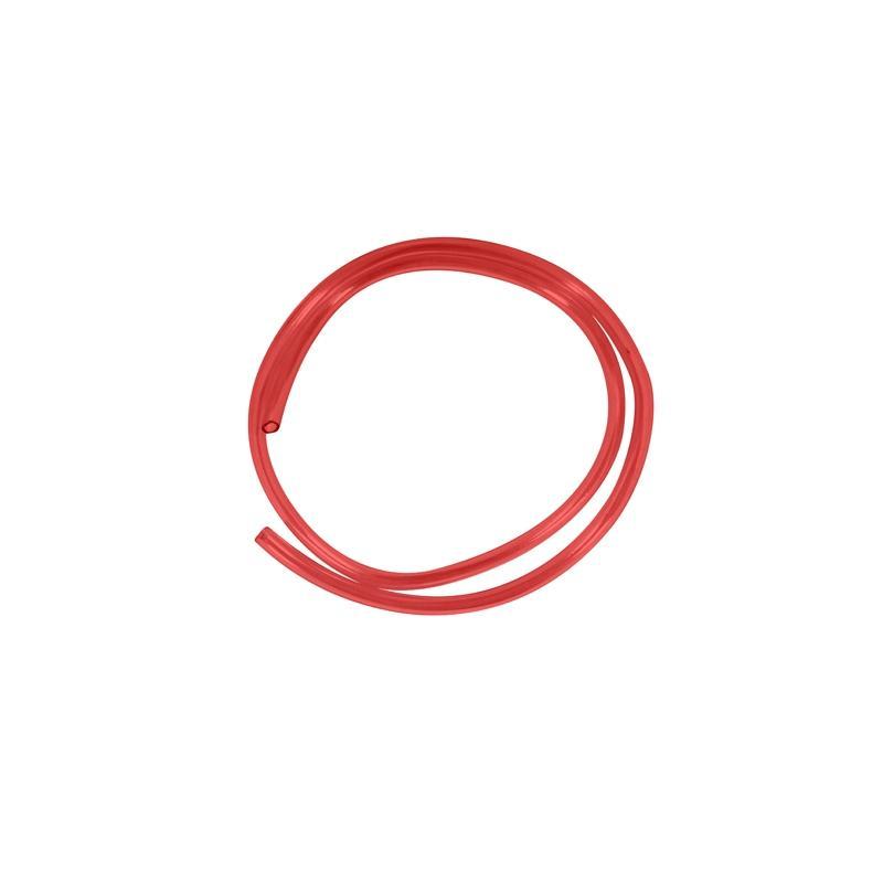 Durite d'essence Ø6 mm x 1 mètre rouge