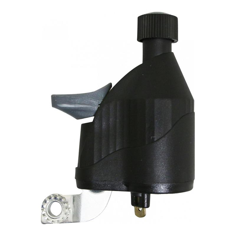 Dynamo Marwi galet nylon 6V/3W noir (montage côté gauche)
