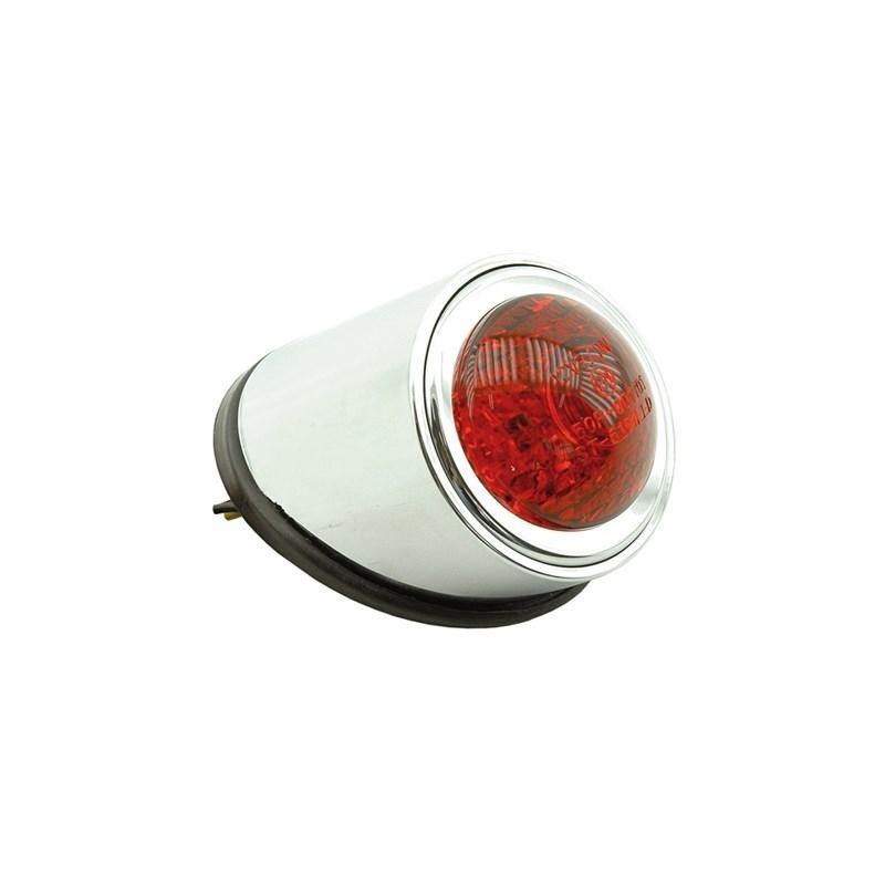 Éclairage arrière rond rouge Vicma Ø 40 mm
