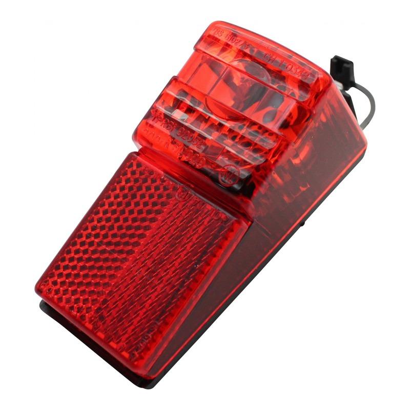 Éclairage arrière sur garde boue arrière (à dynamo)