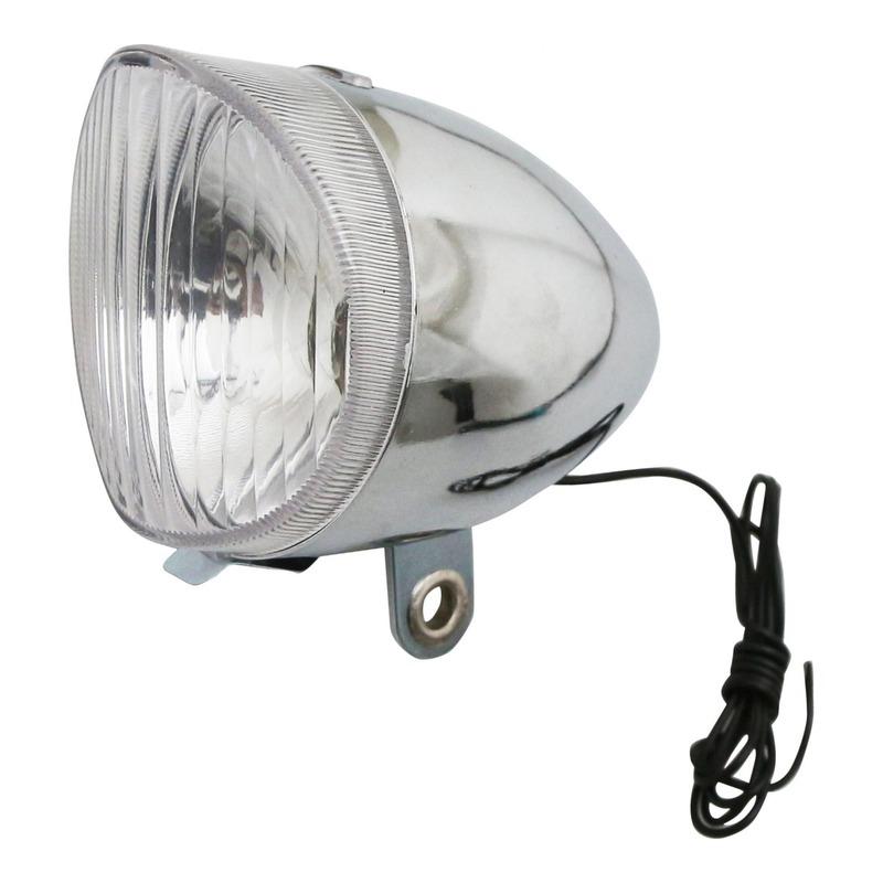 Éclairage avant Marwi Type Hollandais 6V, 2,4W chrome (à dynamo)