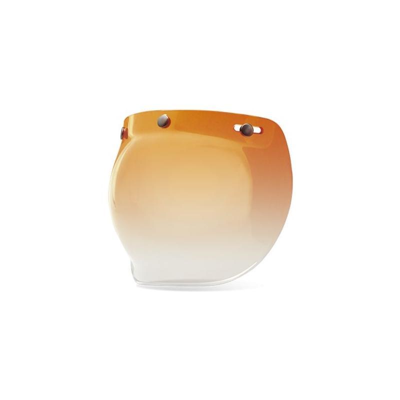 Ecran Bell Ps3-Snap Bubble pour Custom 500 ambre