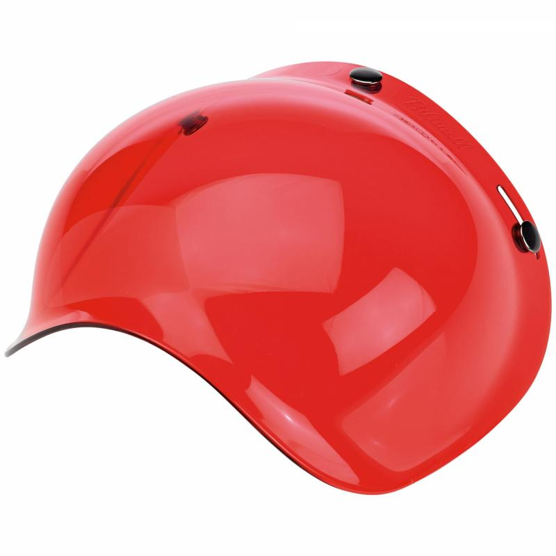 Ecran bubble antibuée Biltwell rouge