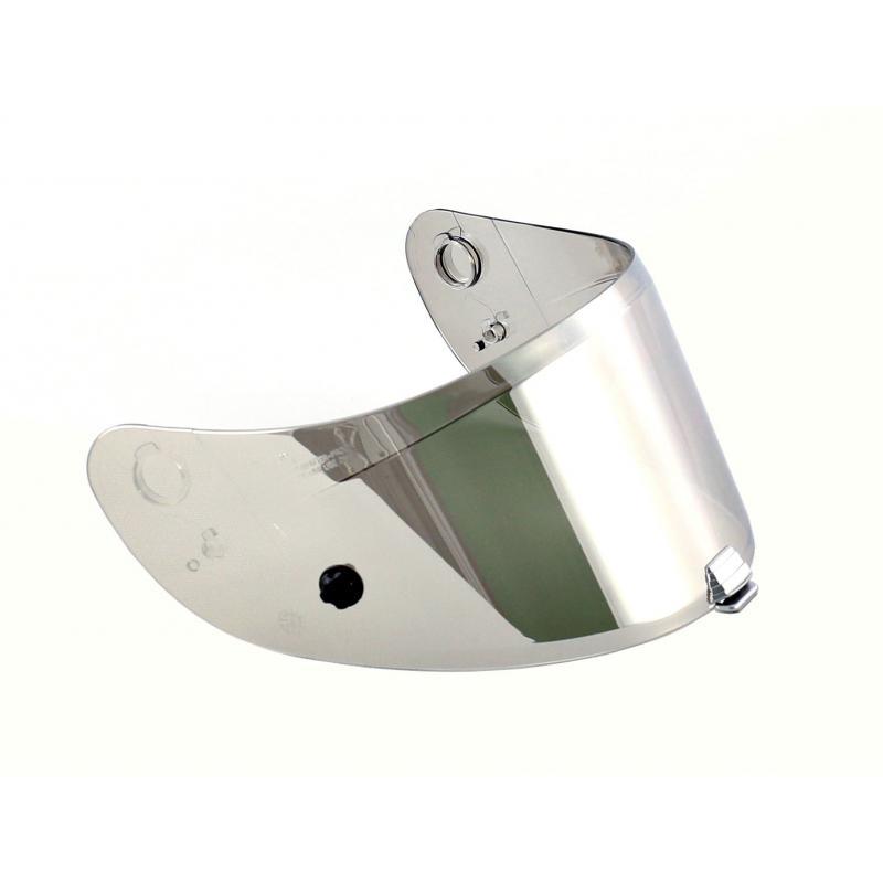 Ecran de casque HJC HJ-20P Flat argent pour casque RPHA 10 +