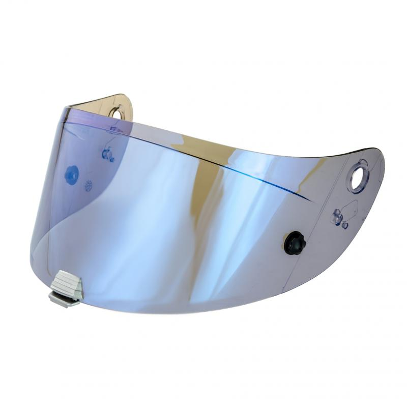 Ecran de casque HJC HJ-20P Flat bleu pour casque RPHA 10 +