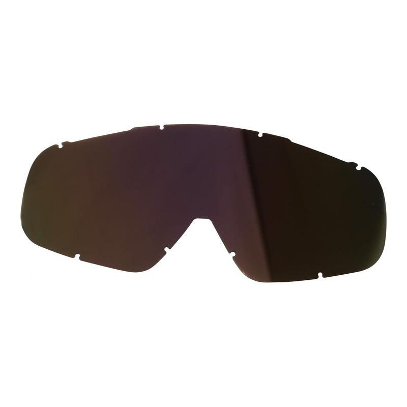 Écran de lunette Doppler iridium rouge transparent anti rayure