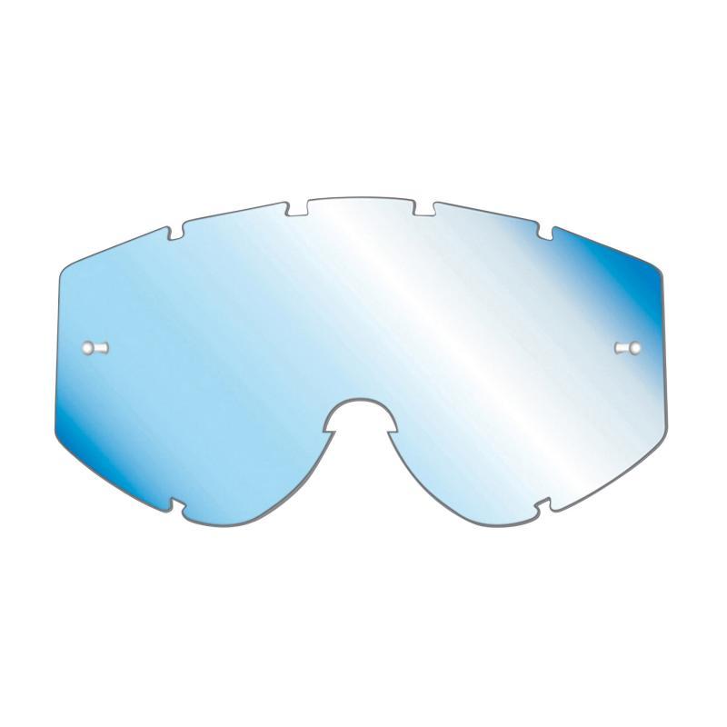 Écran de masque cross Progrip 3253 bleu clair miroir