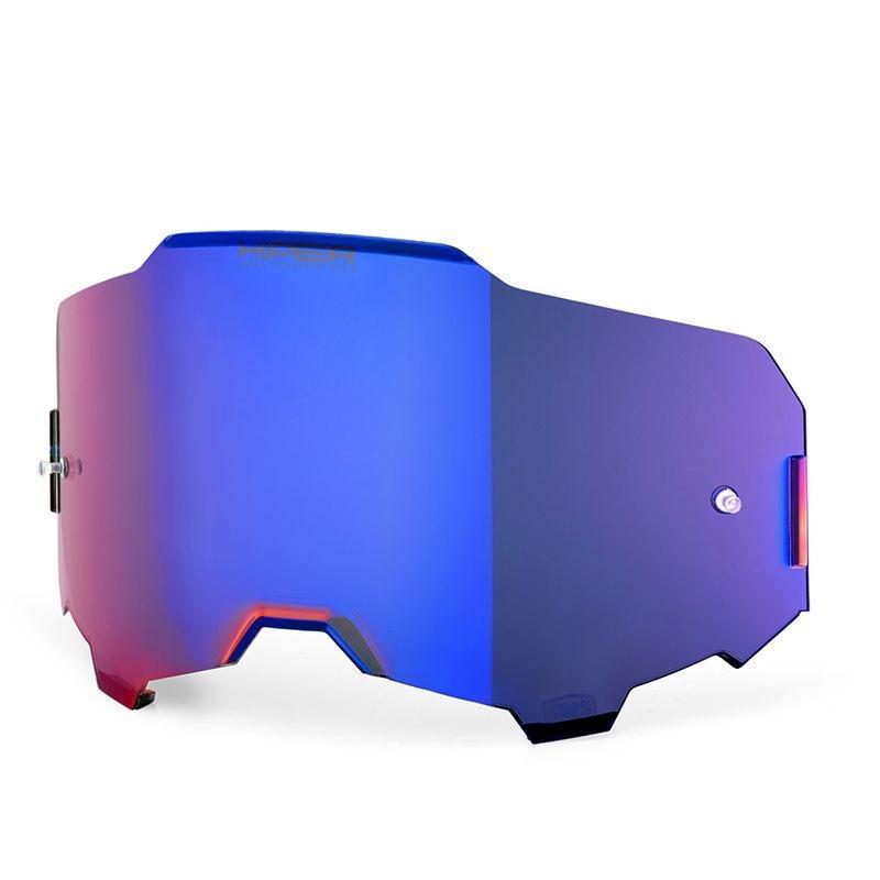 Écran Hiper 100% pour masque Armega miroir bleu