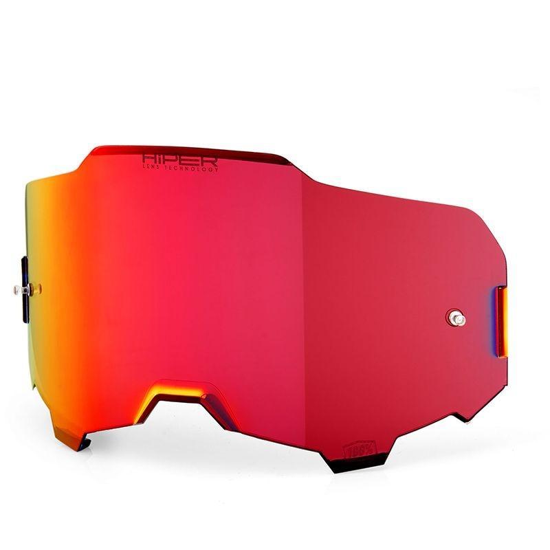 Écran Hiper 100% pour masque Armega miroir rouge