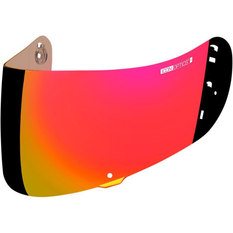 Écran Icon Optics iridium pour casque Airframe Pro/Airmada/Airform rouge