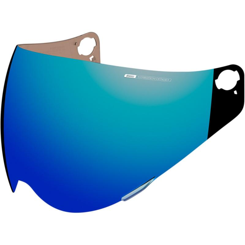 Écran Icon Optics iridium pour casque Variant bleu