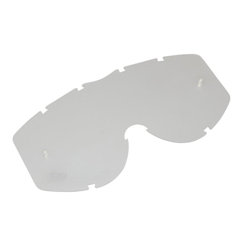 Écran lunette cross Progrip transparent 3212 double faces anti-buee