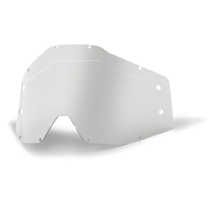 Écran masque cross 100% FORECAST LENS SONIC BUMPS clair