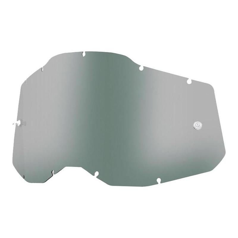 Écran masque cross 100% RC2/AC2/ST2 fumé clair