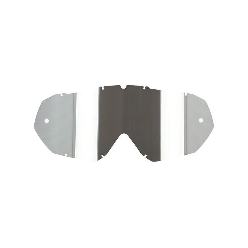 Écran masque cross S-Line Eco iridium argent