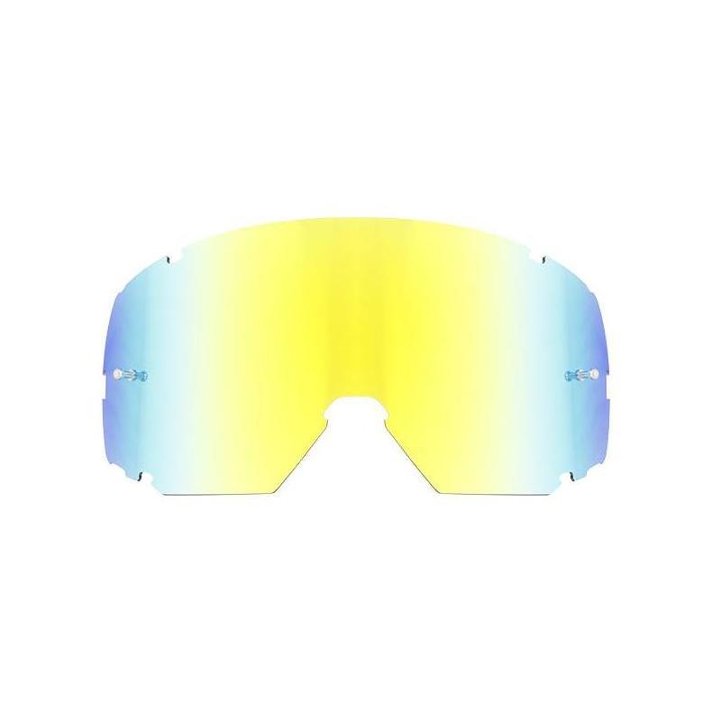 Écran masque cross S-Line Scrub iridium Or/bleu