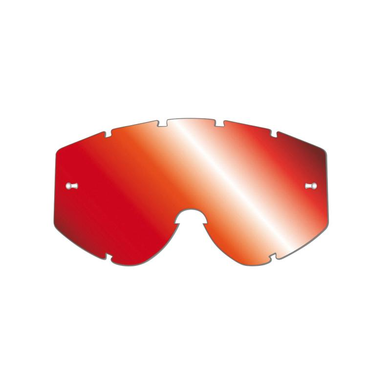Écran miroir anti-buée Progrip 3248 rouge