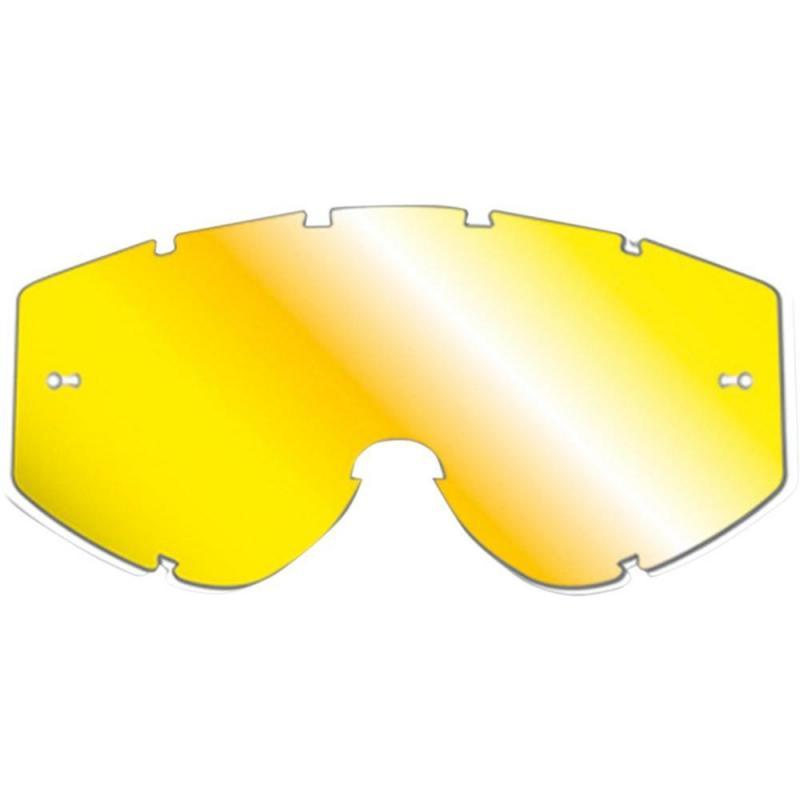 Écran miroir Progrip 3347 pour masque Vista jaune