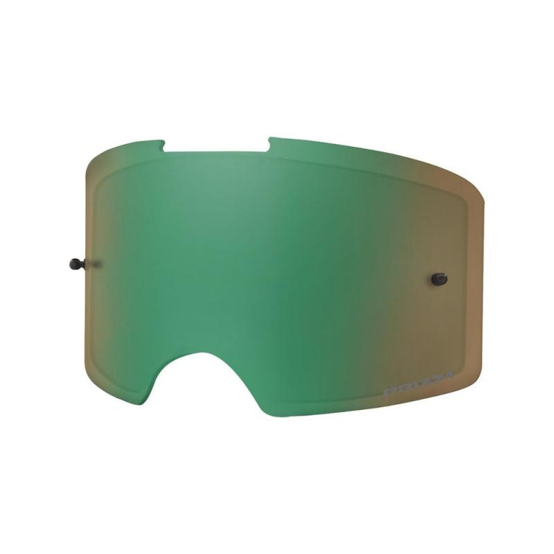 Écran Oakley Front Line Prizm MX jade iridium