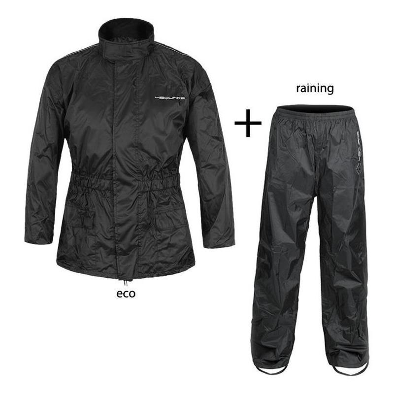 Ensemble de pluie 4Square Eco Raining noir