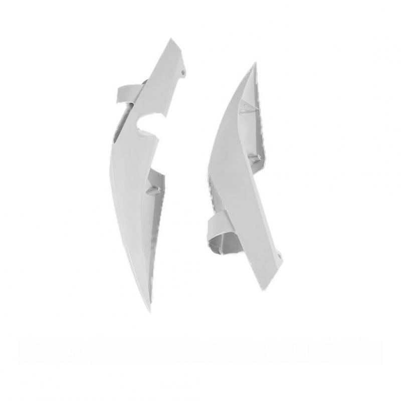Extensions latérales de garde-boue arrière UFO Husqvarna 449 TC 11-13 blanc