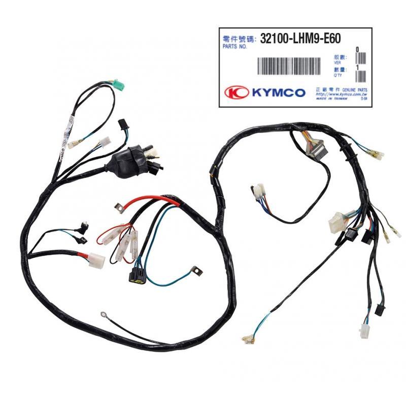 Faisceau Kymco Agility RS/Naked R12 2010-13 32100-LHM9-E60