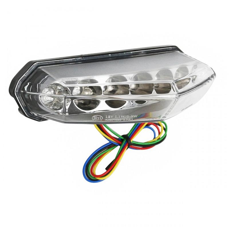 Feu arrière avec clignotants intégrés Replay à LED Derbi Senda DRD/X-Race/X-Treme