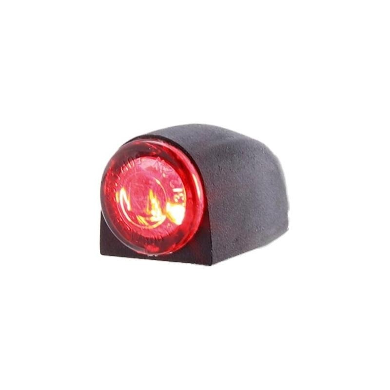 Feu arrière Highsider Proton 3 LED noirs avec feu stop intégré