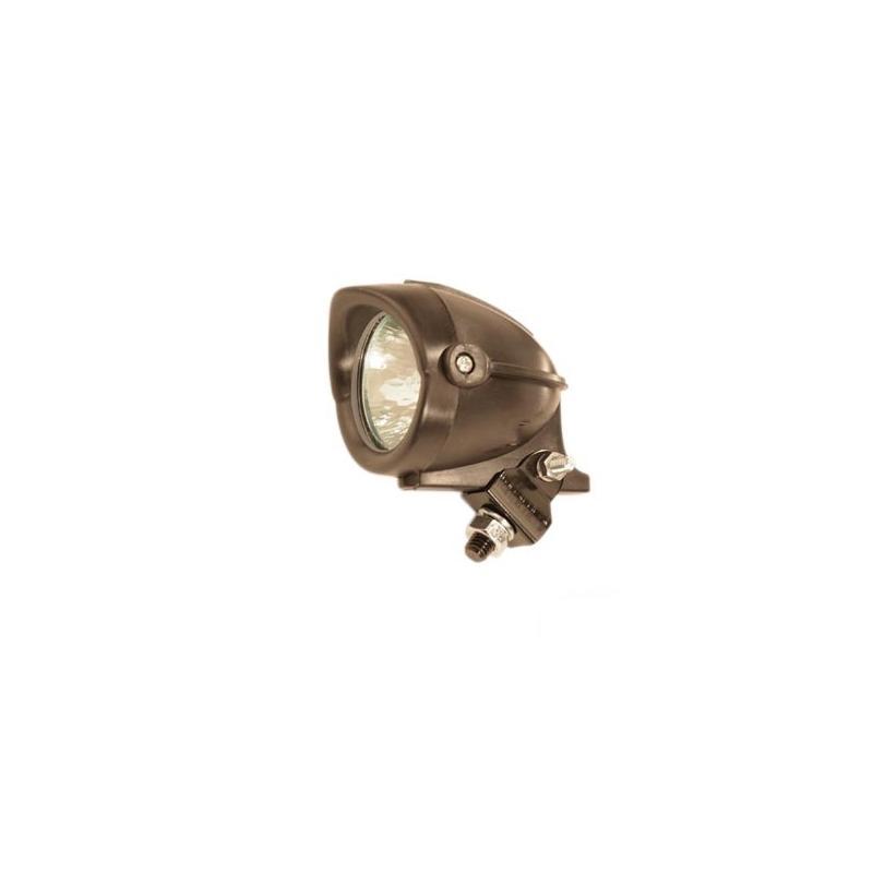 Feu Décoratif Halogène Tun'R Noir Orientable D.50 12v 20w