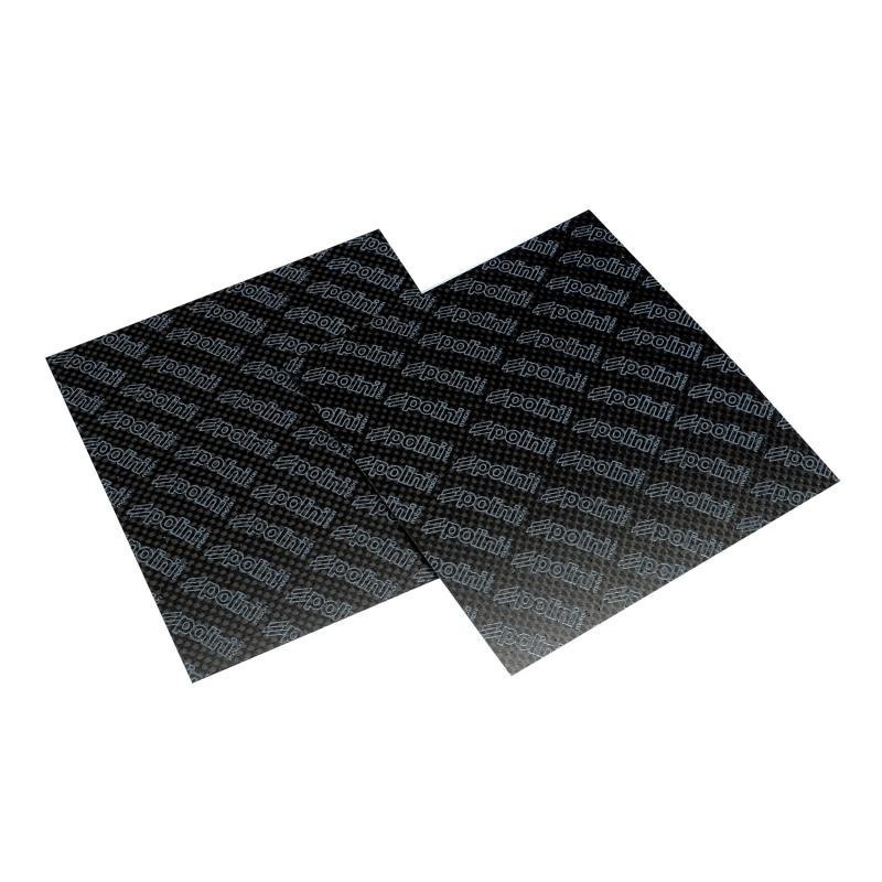Feuille en carbone Polini 110x100 e.0,33