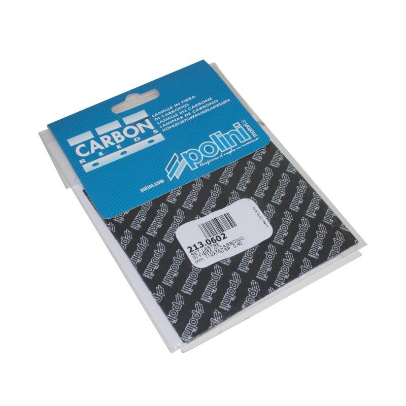 Feuille en carbone Polini 110x100 e.0,40