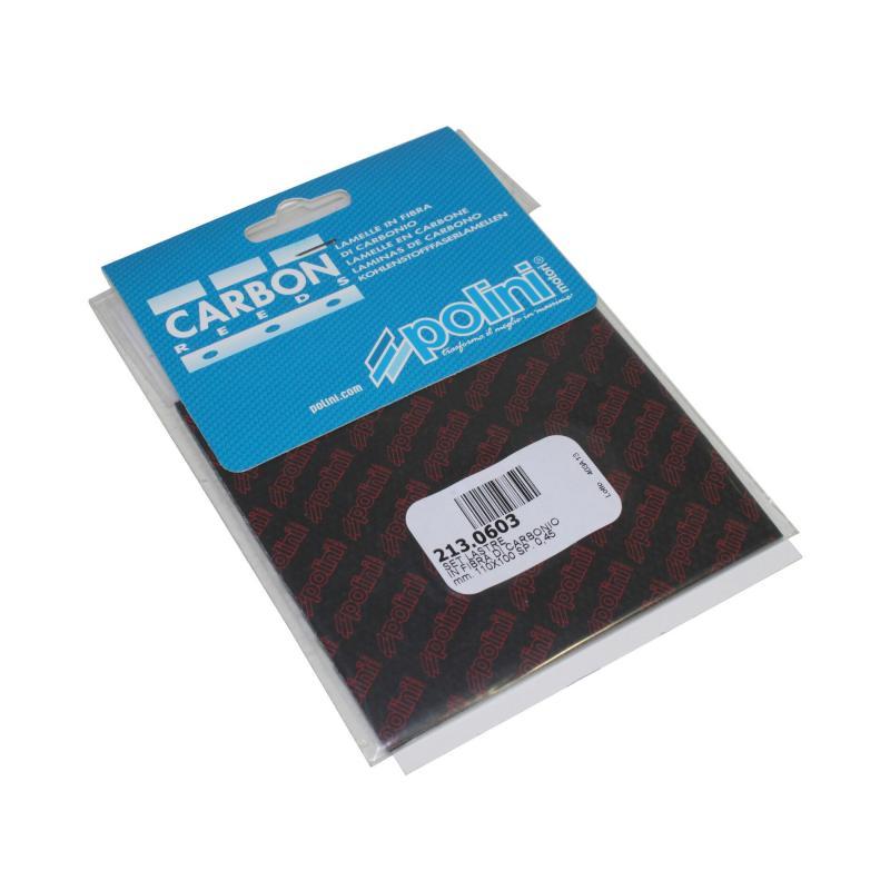 Feuille en carbone Polini 110x100 e.0,45