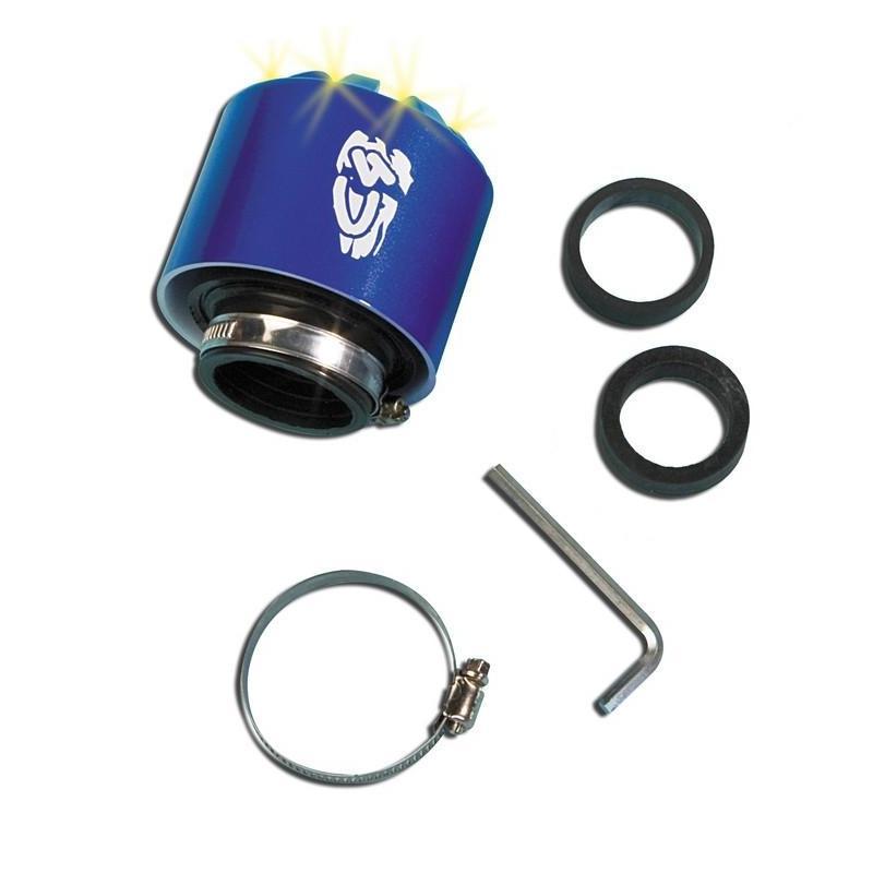 Filtre à air C4 35-28 mm bleu à LED