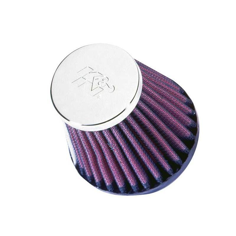 Filtre à air K&N RC-2580 CLAMP ON Ø51mm L76mm
