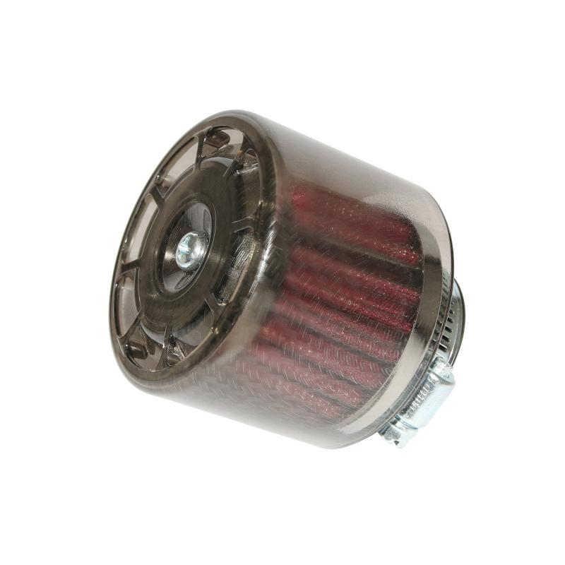 Filtre a air Replay Bell carbone brillant fixation droite D.35/28mm