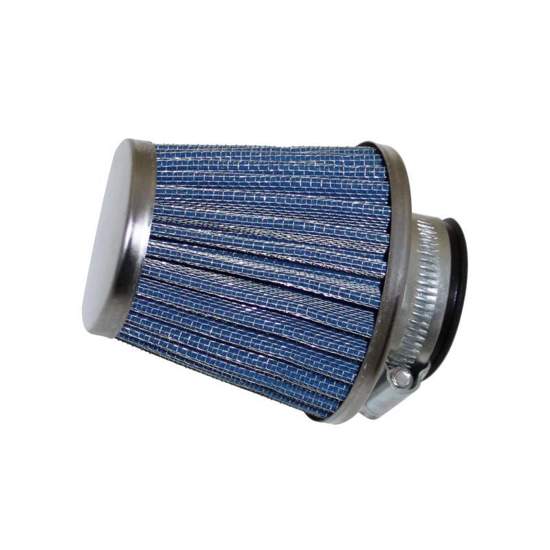 Filtre à air Replay KN middle droit chrome D. 35/28