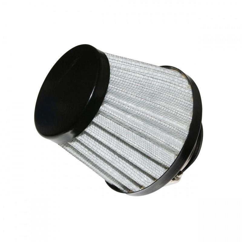 Filtre à air Replay KN Ø35-28 noir / argent
