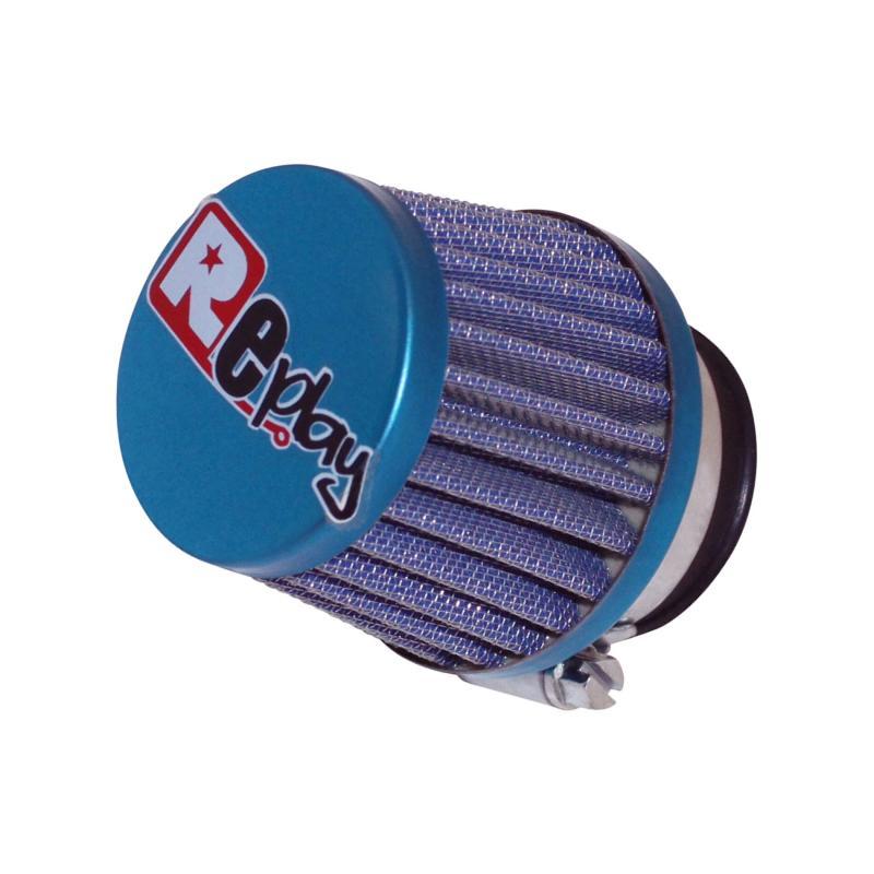 Filtre à air Replay KN small droit bleu D. 35/28