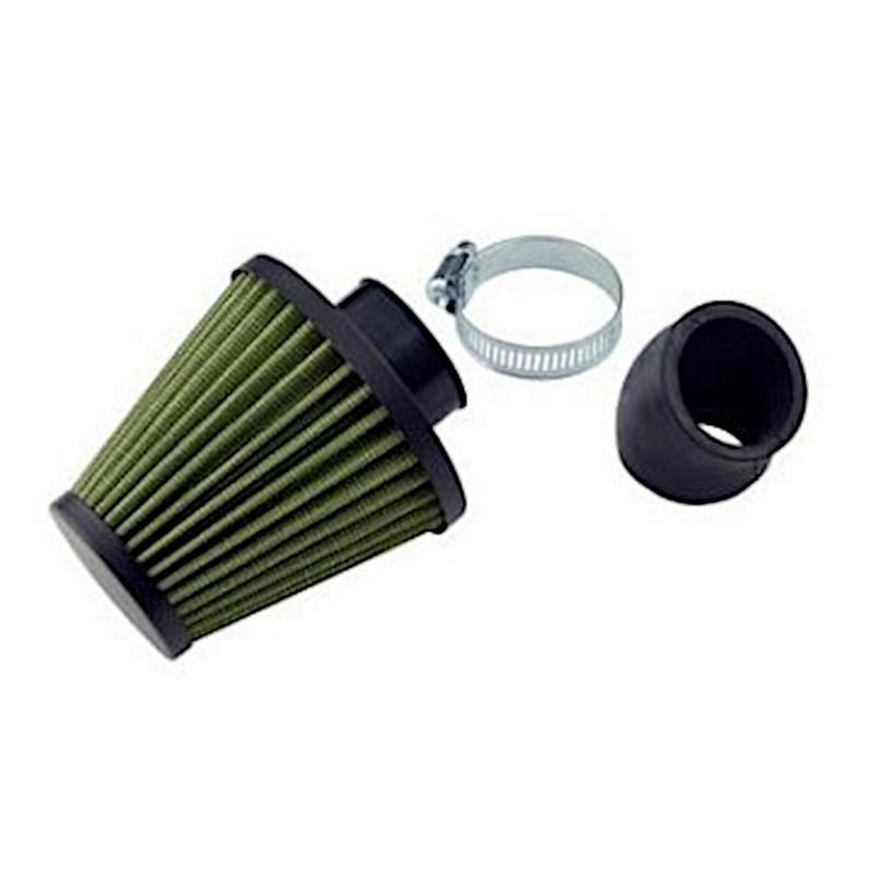 Filtre à Air Tun'R Big D28-35 Filter Green Coude 45°