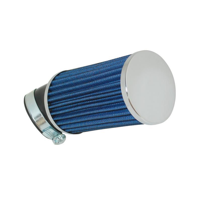 Filtre à Air Tun'R D28-35-50 Long Bleu Coude 45°