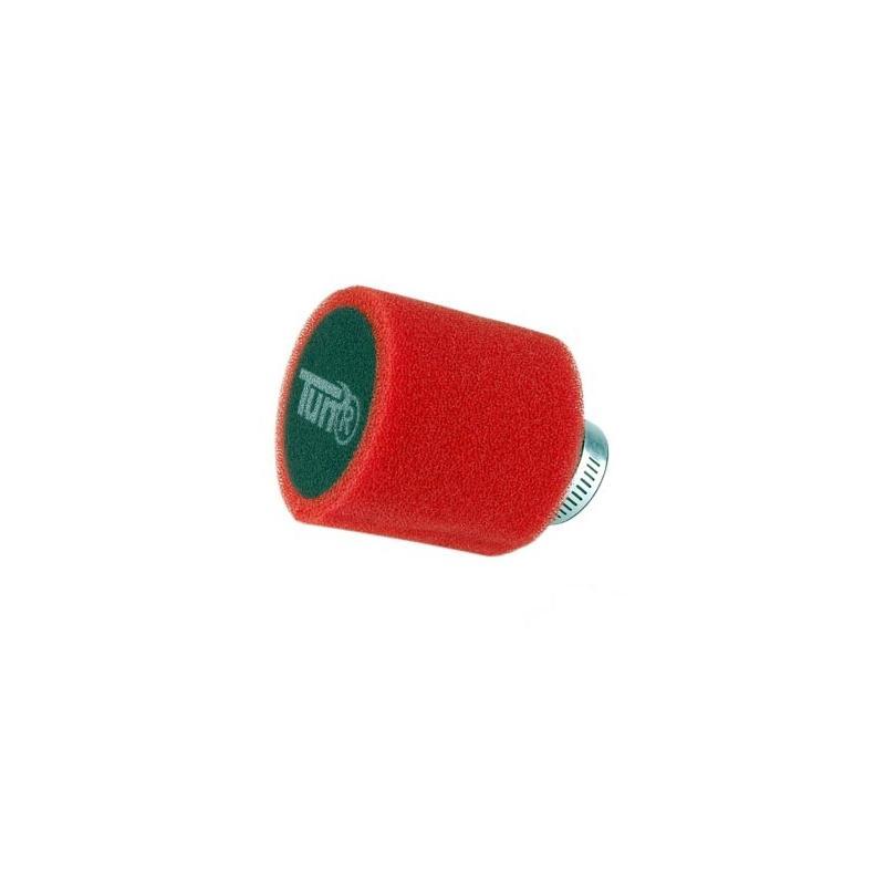 Filtre à Air Tun'R D28-35 Double Mousse Rouge/Noir Avec Logo Tun'R 30°