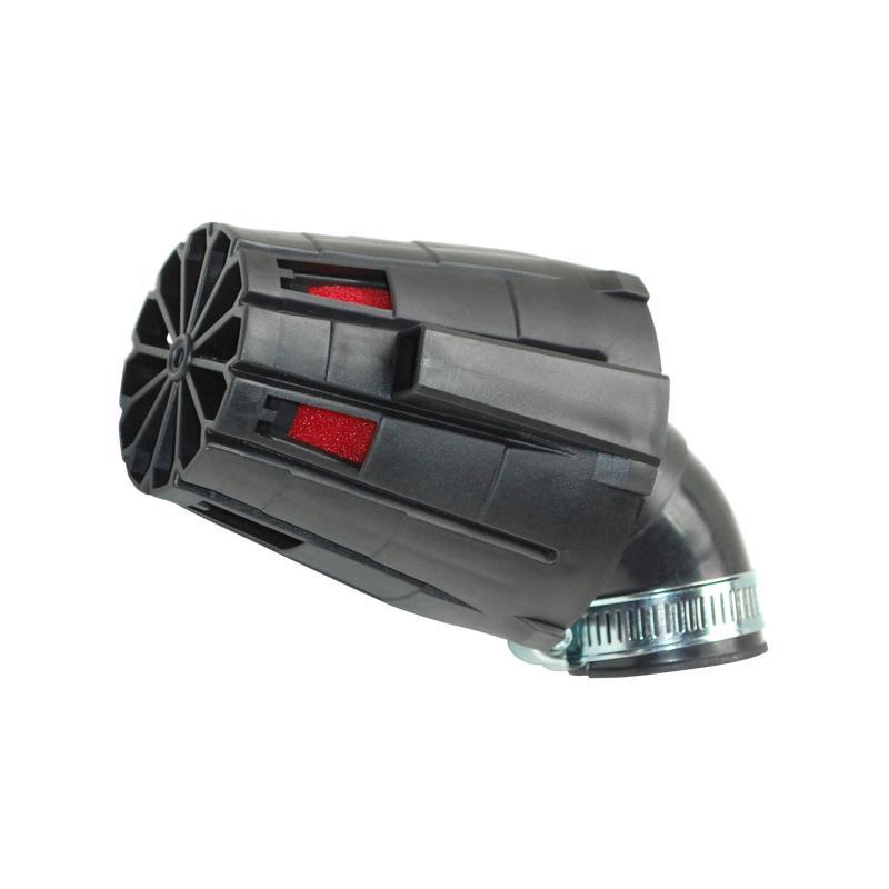 Filtre à Air Tun'R D28-35 E5 Coude Angle Variable Noir