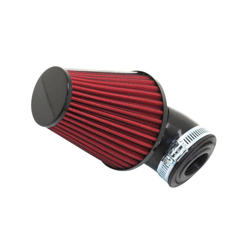 Filtre à Air Tun'R D28-35 Filter Xl Noir/Rouge Coude 30° Orientable