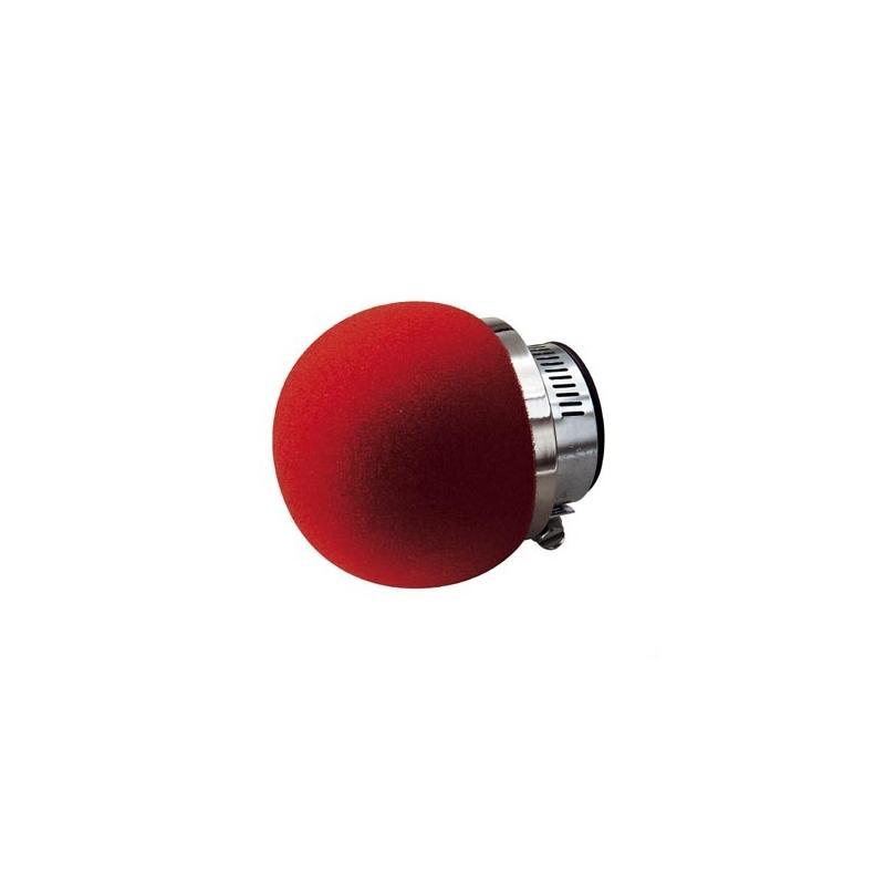 Filtre à Air Tun'R D28-35 Phonique Droit Mousse Rouge