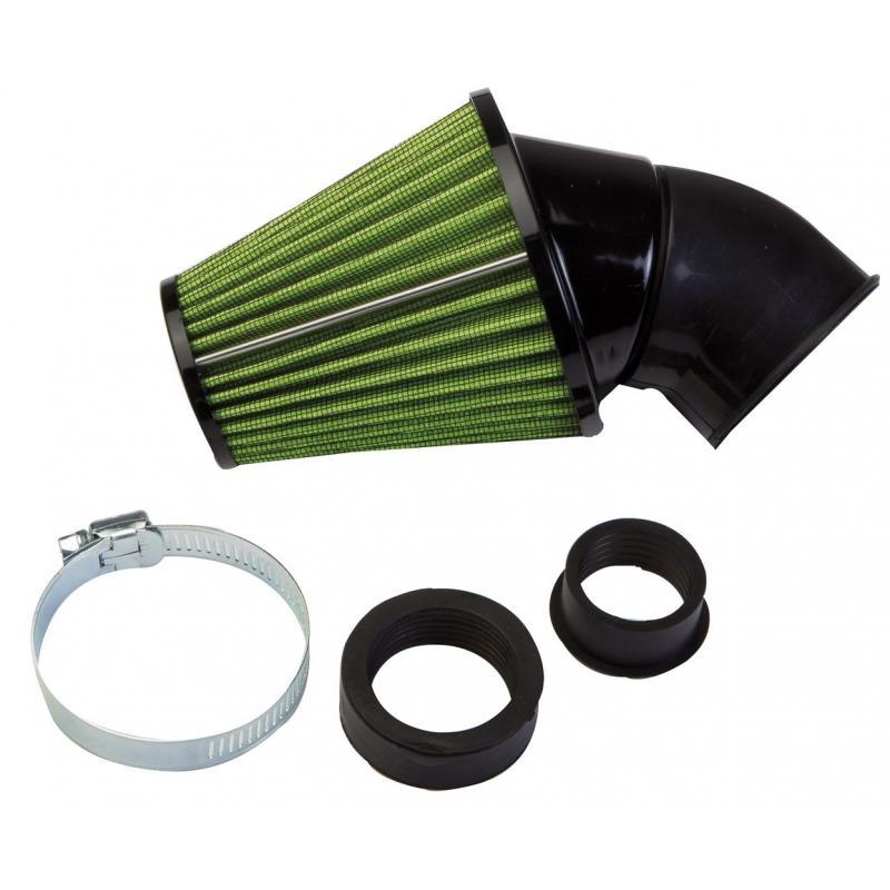 Filtre a air vert 45° Ø 48-35-28 x Keihin