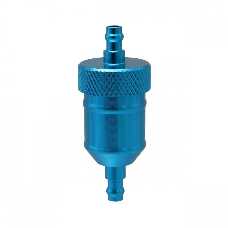 Filtre à essence Replay conique bleu CNC bleu