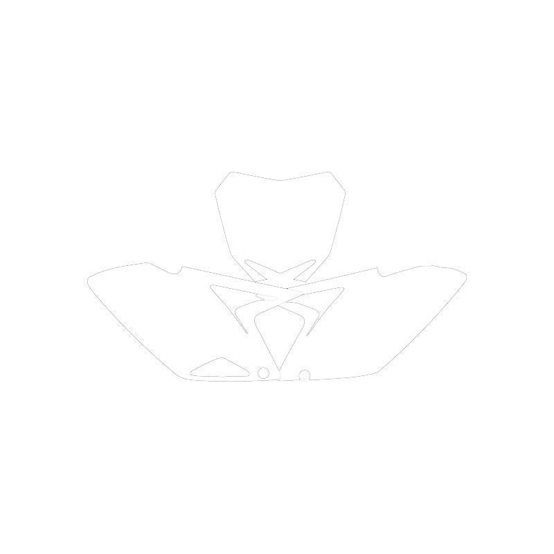 Fonds plaque rm-z250 10 blanc