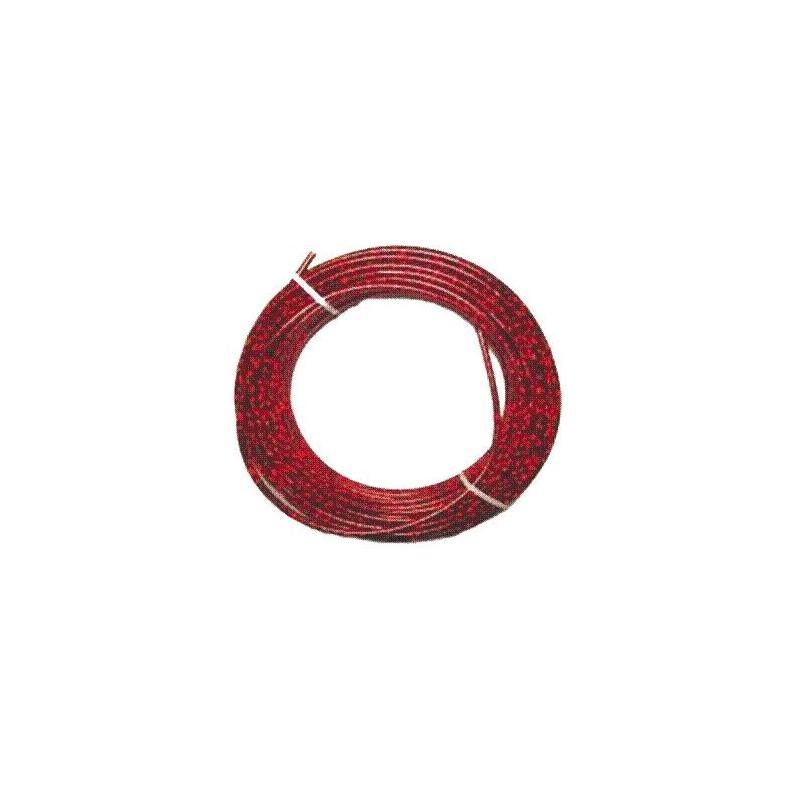 Gaine de câbles Ø 7 25m Rouge laser